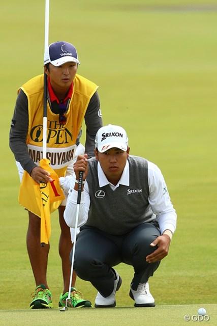 ゴルフの聖地で挑んだ全英。松山は連日インコースでのプレーに苦しんだ
