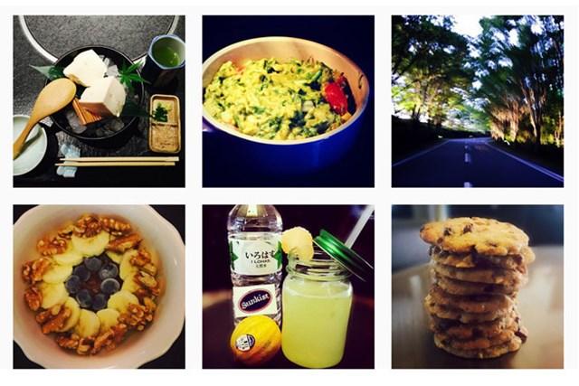 平野自身が作ったというお料理の一部 Jennifer Hirano (@hiranojennifer)/Instagram