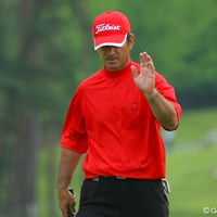 混戦模様の初日、G.マイヤーが6アンダーで単独首位に立った 国内男子 UBS日本ゴルフツアー選手権 初日 G.マイヤー