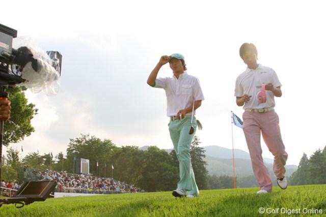 国内男子 UBS日本ゴルフツアー選手権 初日 石川遼 後半巻き返した石川は、納得の表情でホールアウト
