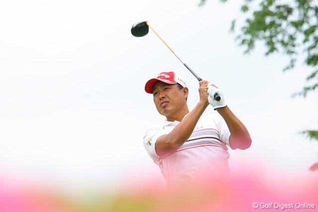 国内男子 UBS日本ゴルフツアー選手権 初日 谷口拓也 首位と4打差の2アンダー。15位タイ発進の谷口拓也