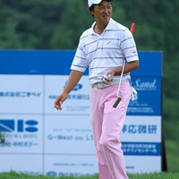 5アンダーの2位タイで初日を終えた秋葉真一 国内男子 UBS日本ゴルフツアー選手権 初日 秋葉真一