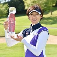 好相性を口にしていた白戸由香は、2日目以降ノーボギーでレジェンズ2勝目を挙げた ※画像提供:日本女子プロゴルフ協会 2015年 LPGAレジェンズ選手権アイザックカップ 最終日 白戸由香