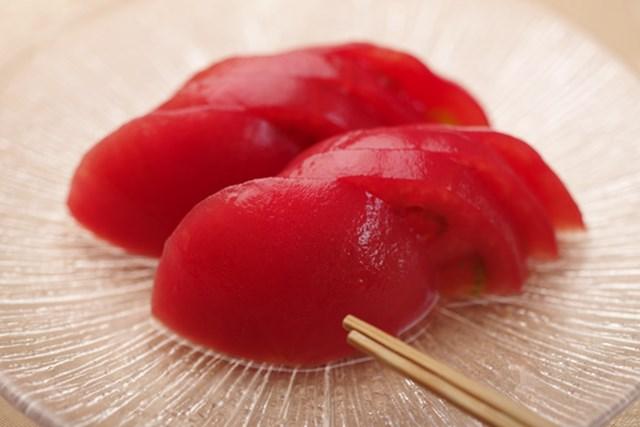 武蔵丘GCでは、単品「冷しトマト(360円・税込)」がメニューにある
