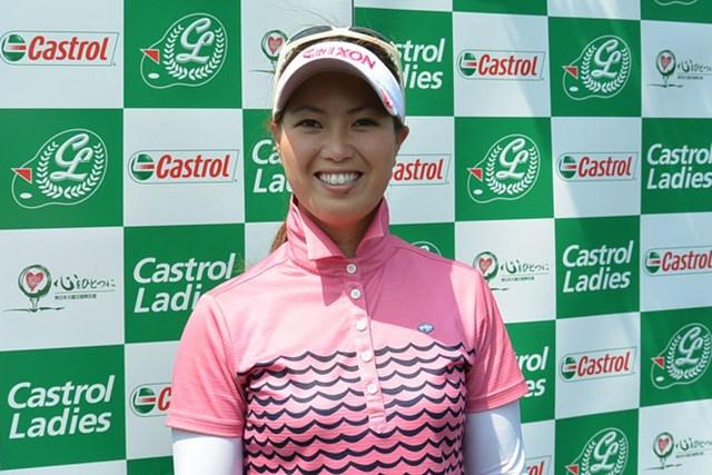 「真梨藻がいたからまったく緊張しなかった」姉・池内絵梨藻が自己ベスト「66」で首位発進※画像提供:日本女子プロゴルフ協会