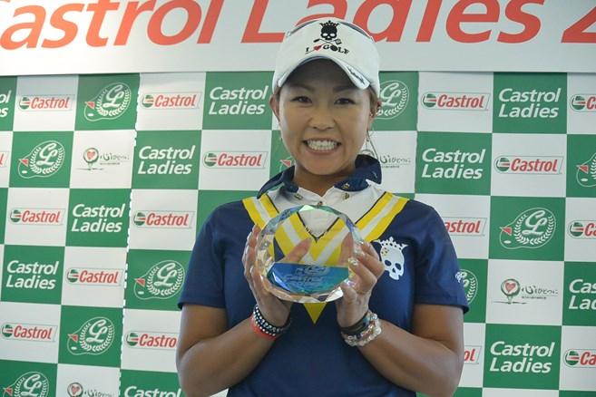 34歳・金田愛子が逆転で初優勝/ステップアップ最終日