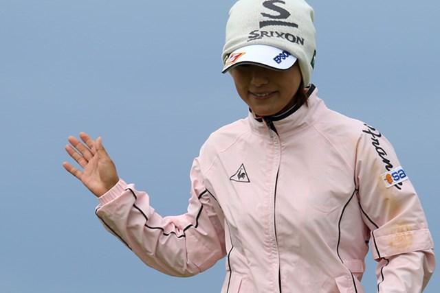 2015年 全英リコー女子オープン 3日目 横峯さくら 横峯さくらは44位で最終日を迎える