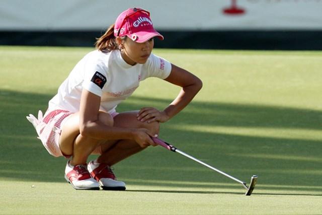 米国女子 LPGAステートファームクラシック 2日目 上田桃子 予選落ちを喫した上田桃子。次週のメジャーで悔しさを晴らしたいところ(David Cannon /Getty Images)※09クラフトナビスコ選手権撮影