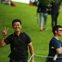 男子プロも見に来る女子ツアー人気。 2015年 meijiカップ 2日目 河野晃一郎