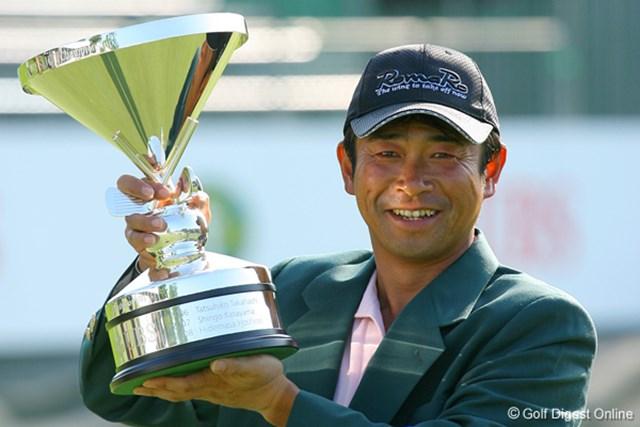 2009年 UBS日本ゴルフツアー選手権 最終日 五十嵐雄二 五十嵐雄二、プロ18年での初優勝はビッグなメジャータイトルだ!