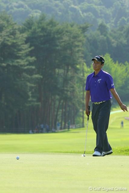 UBS日本ゴルフツアー選手権 宍戸ヒルズ 最終日 I.J.ジャン 18番でもパーセーブできずに優勝を逃したIJジャン