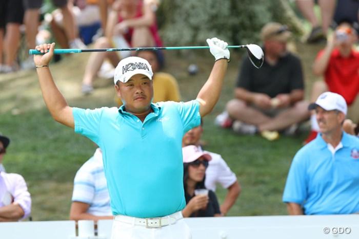 次週は「全米プロゴルフ選手権」に出場 2015年 WGCブリヂストンインビテーショナル 最終日 小田孔明