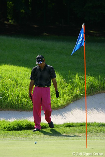 UBS日本ゴルフツアー選手権 宍戸ヒルズ 最終日 池田勇太 この日の池田は良いところ無く…