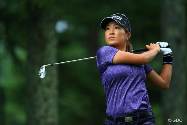 2011年「伊藤園レディスゴルフトーナメント」以来の2勝目を狙う藤本麻子