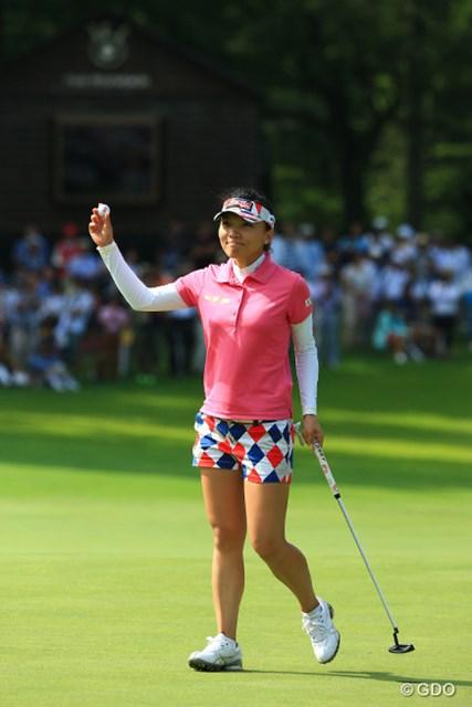 危なげなく今季3勝目を飾ったテレサ・ルー。海外メジャーでの経験が早速生きた。