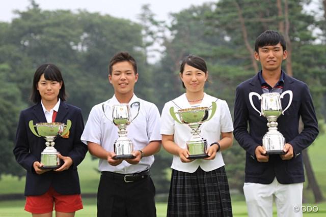 2015年 日本ジュニアゴルフ選手権 最終日 優勝者4人 未来のスター候補!日本ジュニアを制した4選手