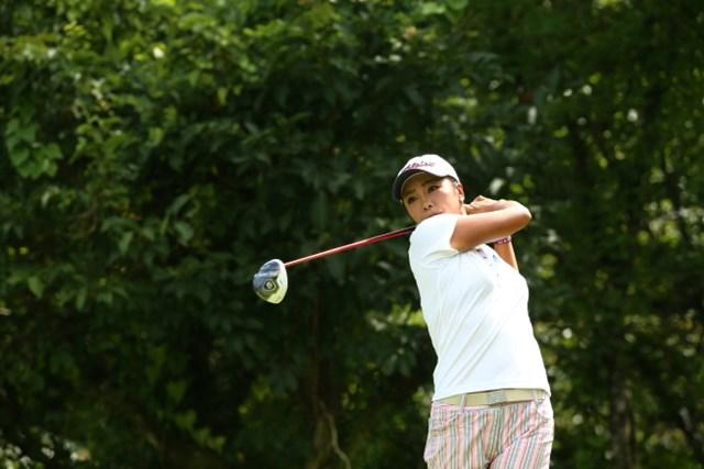 4年ぶりの優勝を狙う三塚優子は2打差の3位で最終日へ