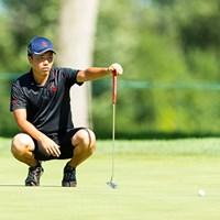 小西健太は準決勝で敗れた(Copyright USGA/Chris Keane) 2015年 全米アマチュア選手権 準決勝 小西健太