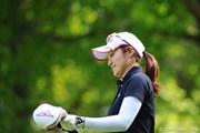 サントリーレディスオープンゴルフトーナメント初日 宅島美香