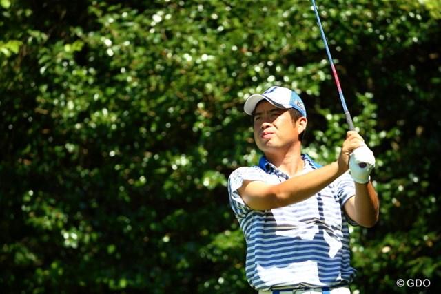 2015年 RIZAP KBCオーガスタゴルフトーナメント 初日 池田勇太 昨年10月以来の優勝を狙う池田勇太が首位タイで発進した