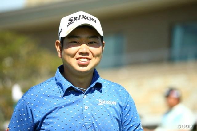 2015年 RIZAP KBCオーガスタゴルフトーナメント 初日 古田幸希 僕、声が高いんです。