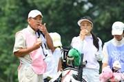 サントリーレディスオープンゴルフトーナメント初日 東尾理子