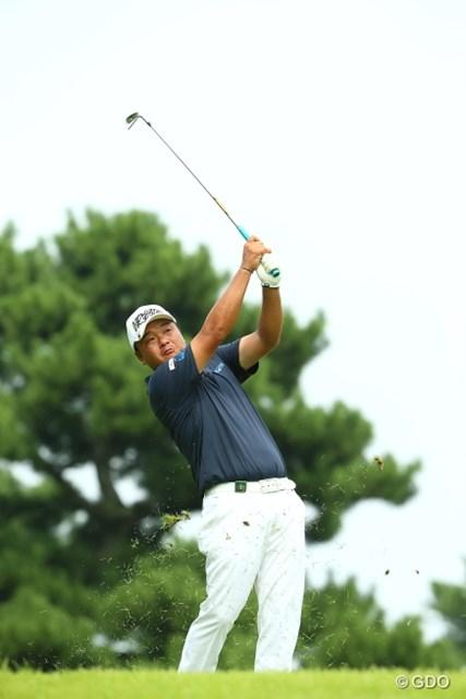 2015年 RIZAP KBCオーガスタゴルフトーナメント 2日目 小田孔明 地元・福岡で初勝利なるか。小田孔明は3年ぶりに当地で予選を通過した