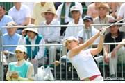 サントリーレディスオープンゴルフトーナメント2日目 飯島茜