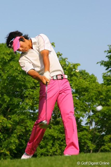 2009年 日本プロゴルフ選手権 第1ラウンド 石川遼 ショットは好調だが、ミスショットが大怪我に繋がってしまった