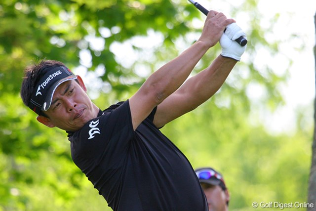 2009年 日本プロゴルフ選手権 第1ラウンド 平塚哲二 「中日クラウンズ」で復活勝利を遂げた平塚哲二がメジャーでも活躍!