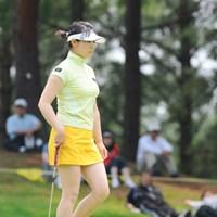 スカート短かっ!中国4000年の歴史が生んだダイナマイトボディ! 2009年 サントリーレディスオープンゴルフトーナメント 3日目 チャンナ