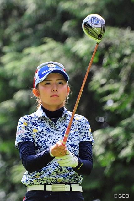 2015年 ゴルフ5レディス 初日 江澤亜弥 人気先行と思ってたんちゃいまっか?どっこい実力つけてきてまんねんで~!