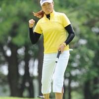 プレーオフの末に2位に終わったが、潜在能力の高さを見せつけた中国のイエ・リーイン 2009年 サントリーレディスオープンゴルフトーナメント 最終日 イエ・リーイン