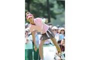 サントリーレディスオープンゴルフトーナメント最終日 金田久美子