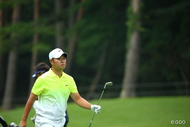 バーディを奪った薗田俊輔は海外でのプレーも想定し5番をプレーした