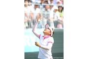 サントリーレディスオープンゴルフトーナメント最終日 有村智恵