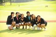 サントリーレディスオープンゴルフトーナメント最終日 アマチュア選手