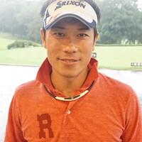 7ホールのプレーオフを制し、角田博満はホッと笑顔を見せた 2015年  PRGR RS CUP 第4回予選 角田博満