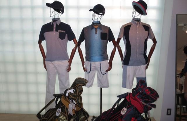 着物など日本伝統から着想を得て、独自の世界観を演出する「トヴホ」。ファッション感度の高いゴルファーを刺激する