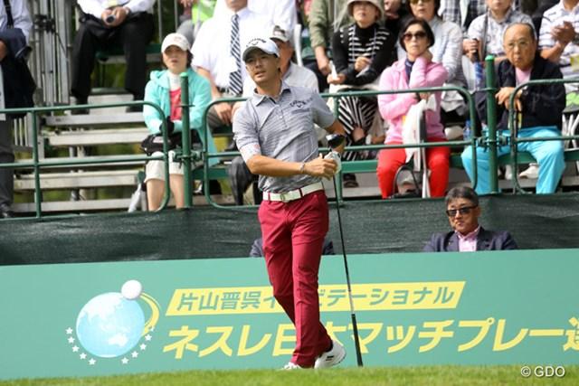 2015年 片山晋呉インビテーショナル ネスレ日本マッチプレー選手権 レクサス杯 2日目 石川遼 石川遼は昨年に続いて1回戦で姿を消した