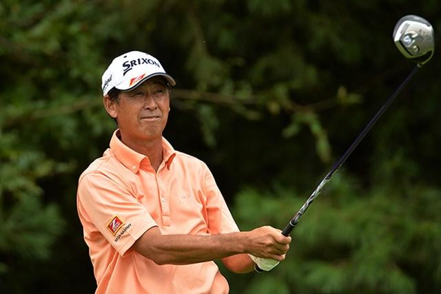 首位をキープした渡辺司※日本プロゴルフ協会提供