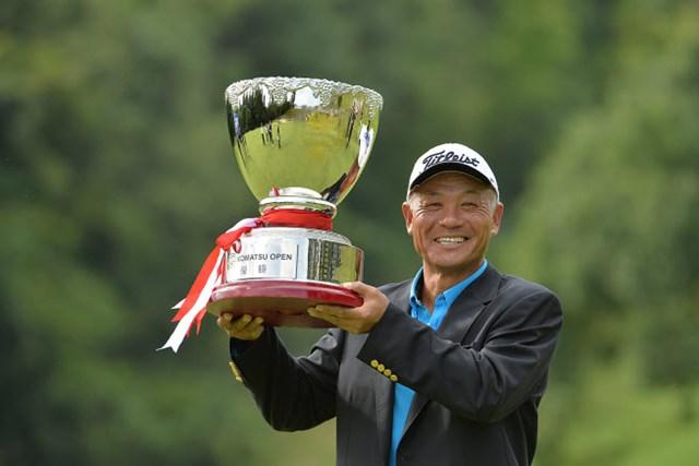崎山武志は今季4勝目で賞金ランキングトップ独走へ