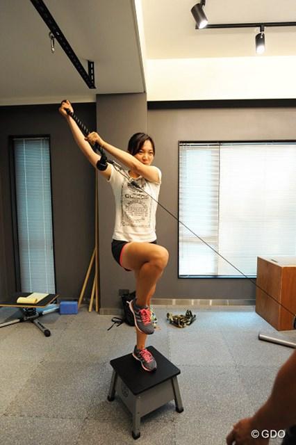 4-3.引っ張る動きと安定した体幹を鍛える動作