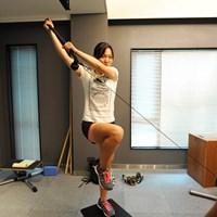 4-3.引っ張る動きと安定した体幹を鍛える動作 2015年 日本女子プロ選手権コニカミノルタ杯 最終日 テレサ・ルー