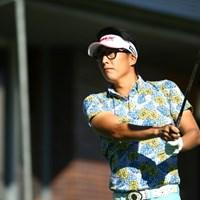 あれ?お洒落眼鏡? 2015年 ANAオープンゴルフトーナメント 初日 ジェイ・チョイ