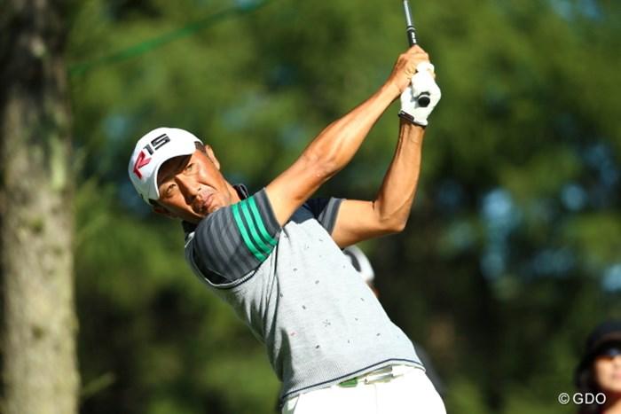 最近なんだかんだでいいゴルフしてませんか? 2015年 ANAオープンゴルフトーナメント 初日 沖野克文