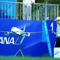 こら!あれほど触るでねーって言ったろ! 2015年 ANAオープンゴルフトーナメント 初日 文景俊