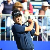 先日はクラチャンの方?と思ってしまい失礼いたしました。 2015年 ANAオープンゴルフトーナメント 初日 柳沢伸祐