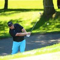 バンカーからバーンズ! 2015年 ANAオープンゴルフトーナメント 初日 カート・バーンズ