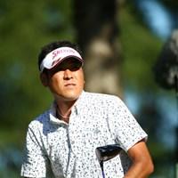 肩幅は小さいよ。 2015年 ANAオープンゴルフトーナメント 初日 近藤啓介